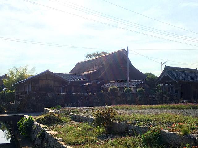 登録文化財の「中村家住宅」