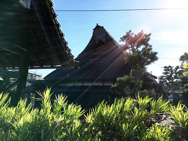 八木浜のルーツを感じる中村家