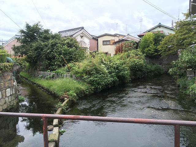 米川と八幡川