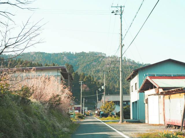 川並の集落