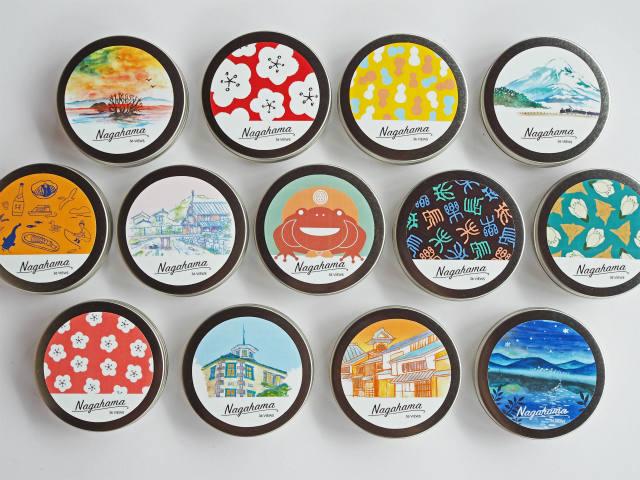 商品紹介 / 湖北の新しいお土産『長浜缶缶』誕生!