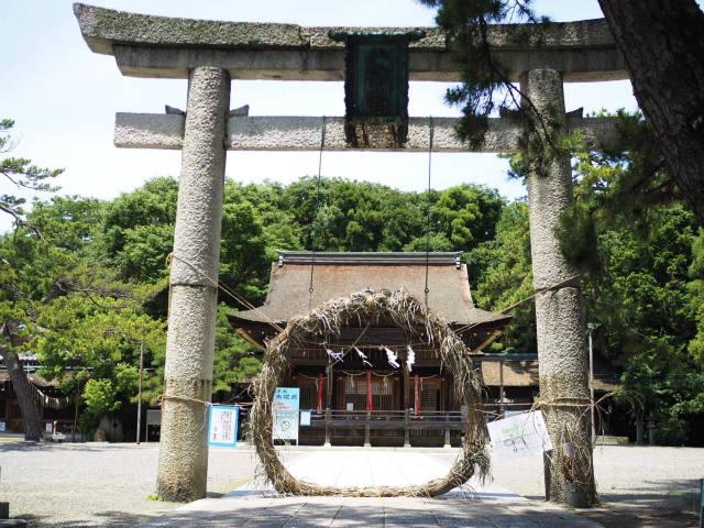 長濱八幡宮 茅の輪くぐり神事 (3)