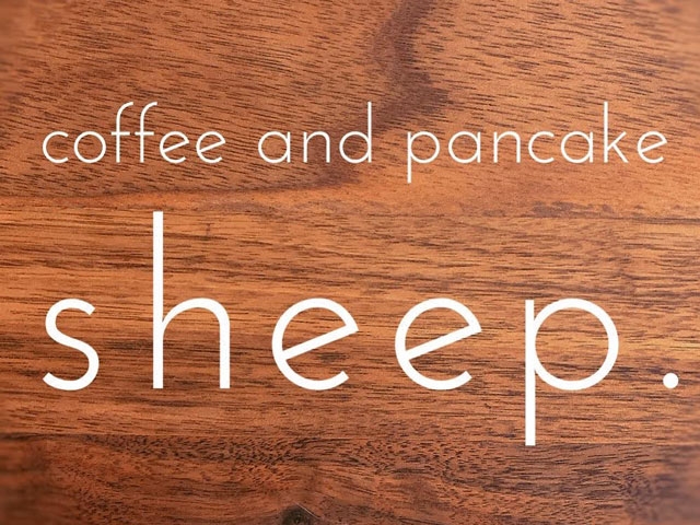 カフェ営業/coffee and pancake sheep.