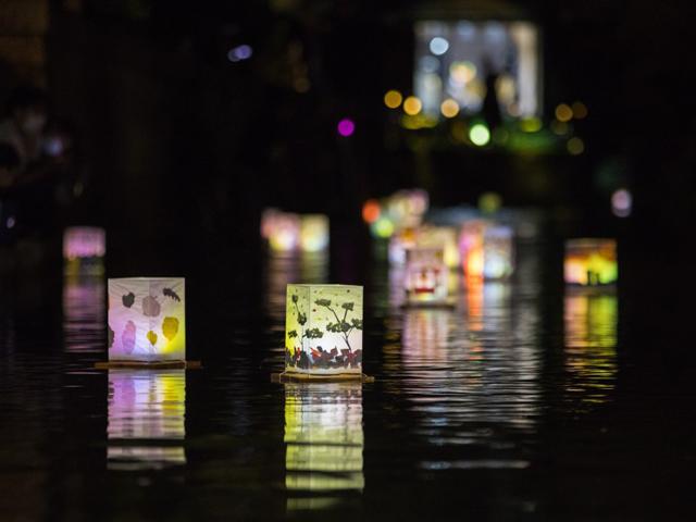 イベントレポート/米川とうろう流しを開催しました